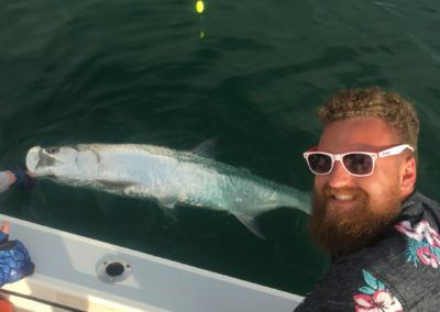 Tarpon by the Boat