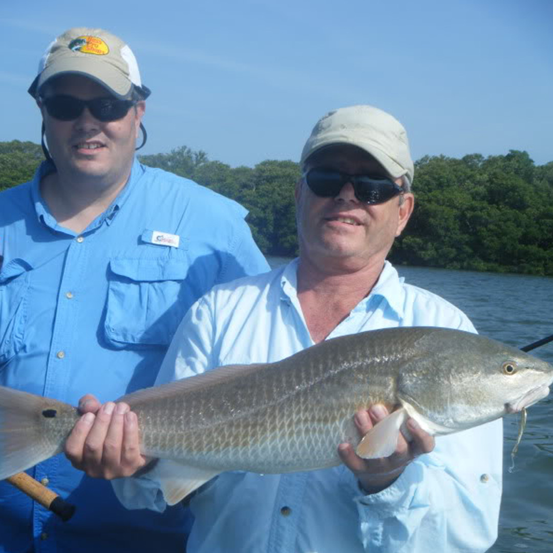 Bruce and Mike had a great inshore charter catching Redfish.