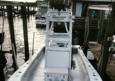 Hanson Docked at Marina