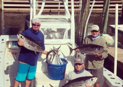 Blackfin Tuna at the Marina
