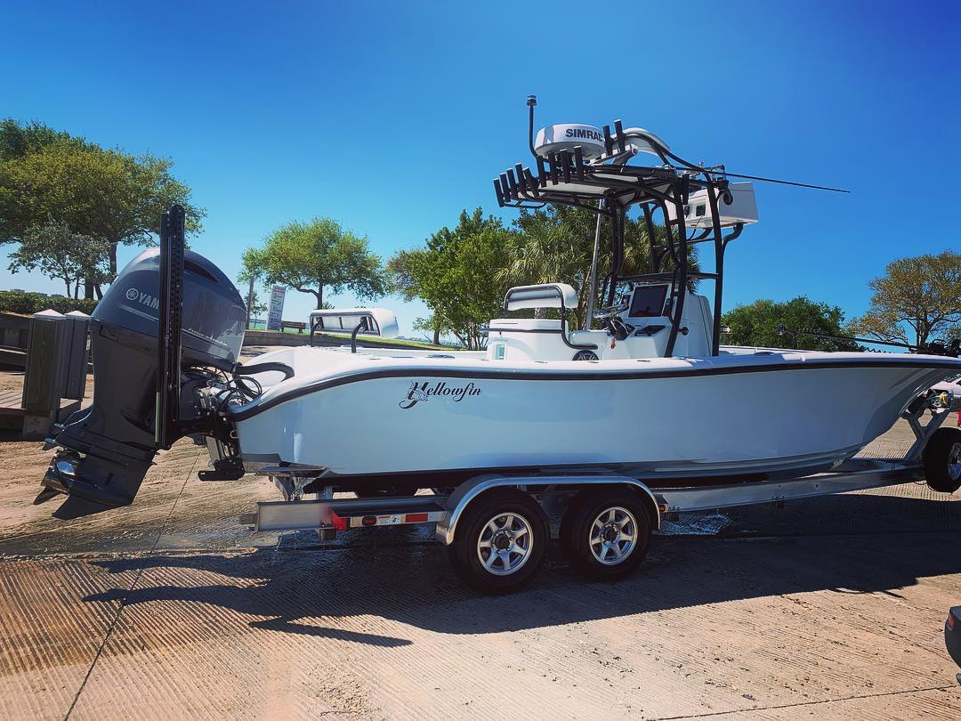 26' Yellowfin Completed